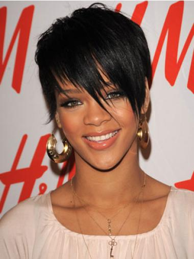 Rihanna Short Hair Wigs