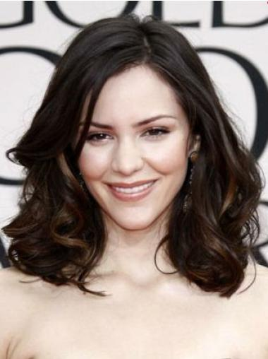 Celebrity Brown Lace Front Wavy Wigs