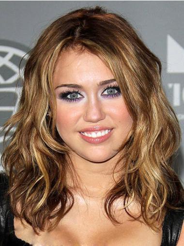 Celebrity Blonde Capless Wavy Hairstyle Wigs