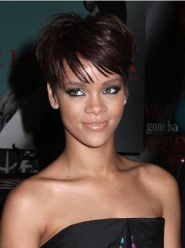 Rihanna Short Wig