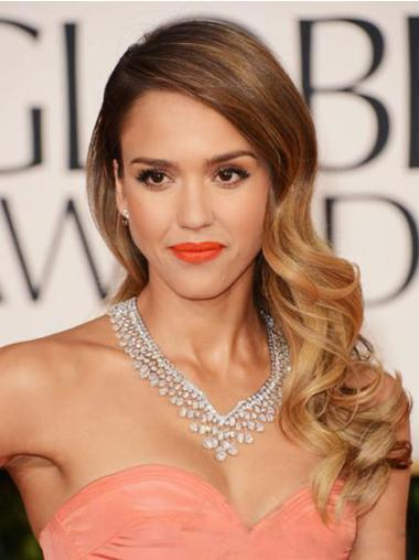 Jessica Alba Lace Front Curly Wigs
