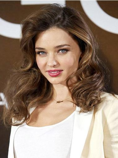 Synthetic Lace Front Wavy Celebrity Hairstyle Wigs