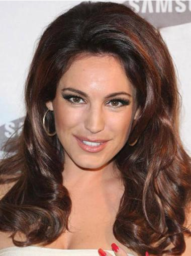 Synthetic Lace Front Wavy Celebrity Wigs Hairstyle