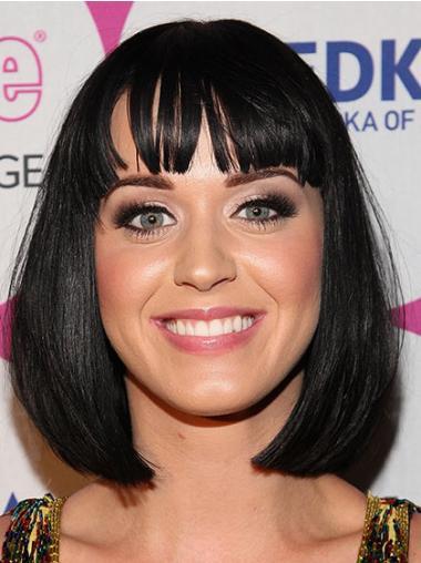 Katy Perry Black Wig