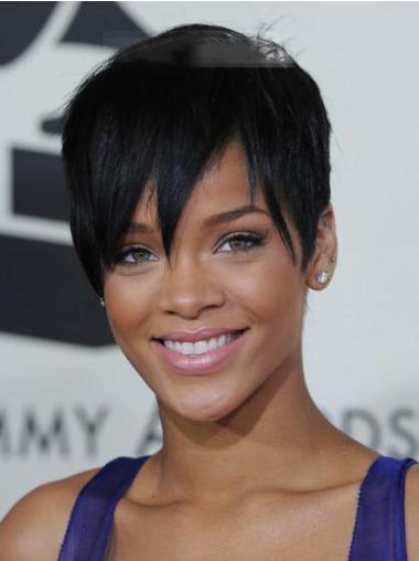 Rihanna Short Hair Wig