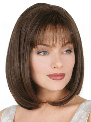 Synthetic Brown Capless Bob Stylish Wigs