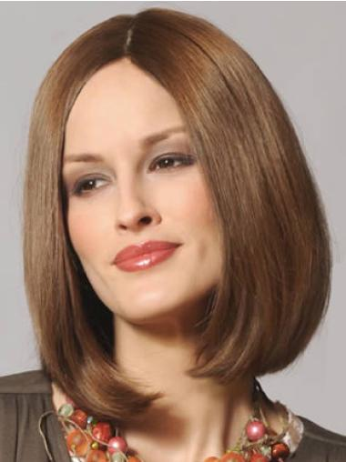 Remy Human Hair Brown Lace Front Bob New Wigs