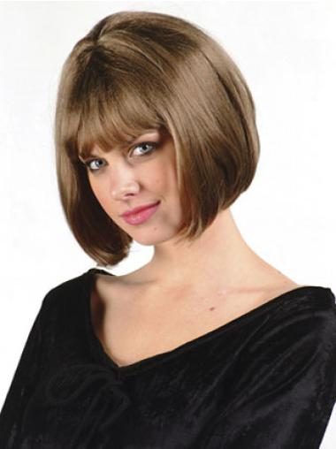 Synthetic Brown Capless Bob Wonderful Wigs