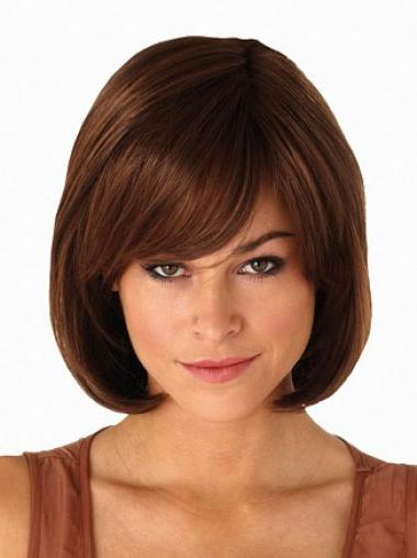 Synthetic Auburn Capless Bob Popular Wigs