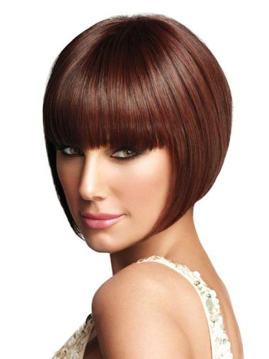 Synthetic Auburn Capless Bob Incredible Wigs