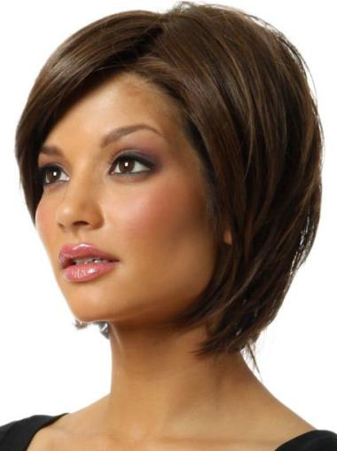 Synthetic Brown Capless Bob Popular Wigs