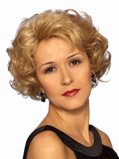Wavy Synthetic Short Lace Front Blonde Incredible Wigs