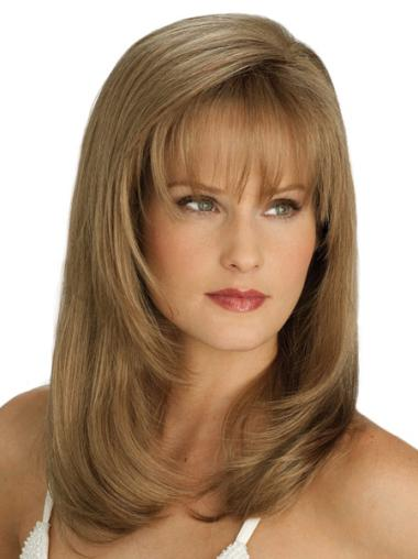 Long Straight Lace Front Blonde Sassy Wigs