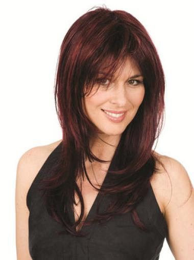 Long Straight Capless Auburn Great Wigs