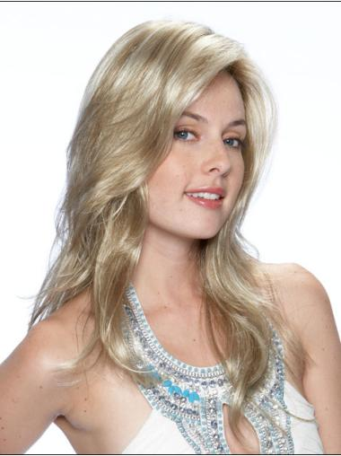Long Straight Lace Front Blonde No-fuss Wigs