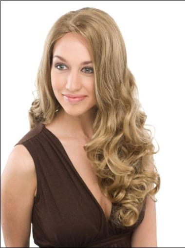 Long Curly Capless Blonde Popular Wigs