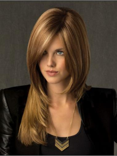 Fashionableable Synthetic Blonde Lace Front Wigs