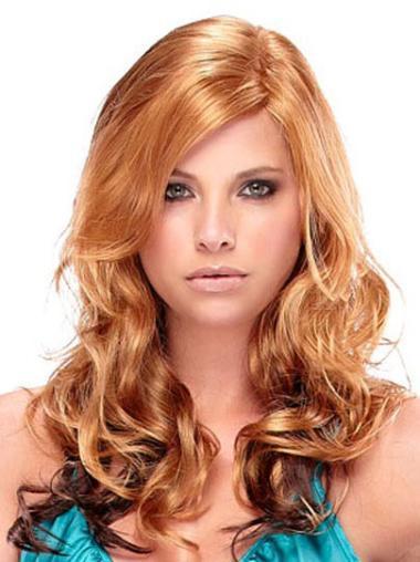 Top Synthetic Auburn Capless Wigs