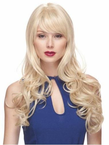 Popular Synthetic Blonde Capless Wigs