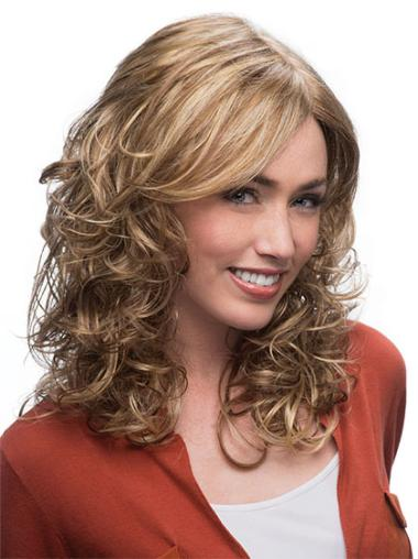 Style Synthetic Blonde Capless Wigs