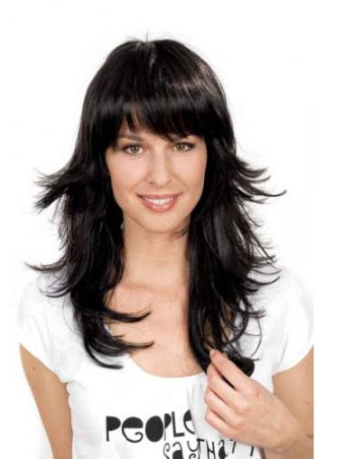 Best Synthetic Black Capless Wigs