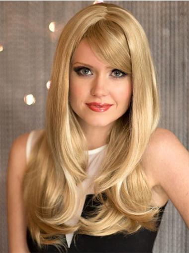 Stylish Synthetic Blonde Capless Wigs