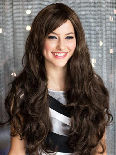 Affordable Remy Human Hair Brown Capless Wigs