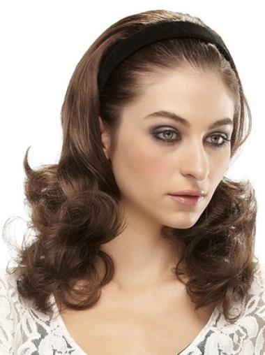 Classy Long Wavy Capless Hairpieces