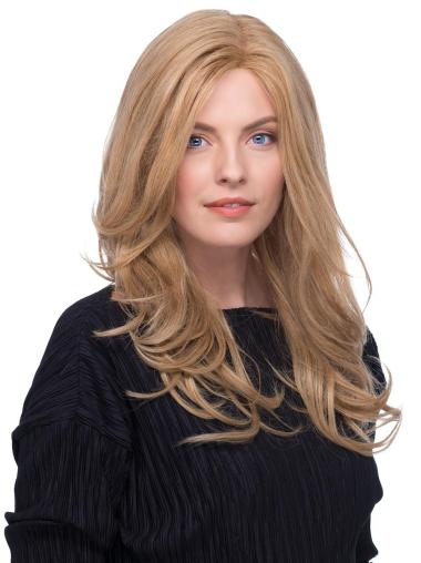 Blonde 100% Hand-tied Long 17 Inches Cheap Remy Hair