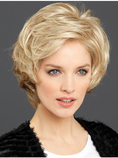 """6"""" Wavy 100% Hand-tied Online Synthetic Wigs"""